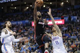 D-Wade's 25 Point Performance Helps Miami Beat OKC (116-107) #OneLastDance
