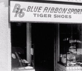 blue ribbon sport, sejarah nike