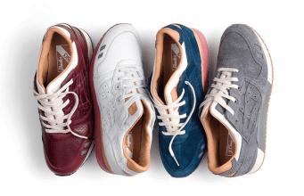 PACKER SHOES Merayakan HUT ke-110 dengan J.CREW DAN ASICS GEL LYTE III