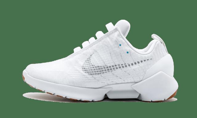 Nike Hyper Adapt 1.0 'Triple White' Shoes - Size 10.5