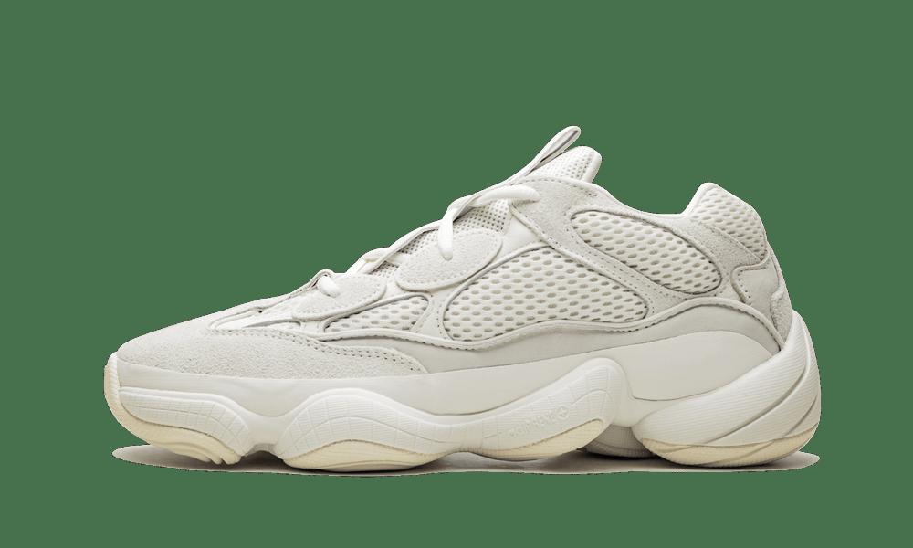 Adidas Yeezy 500 'Bone White' Shoes - Size 10