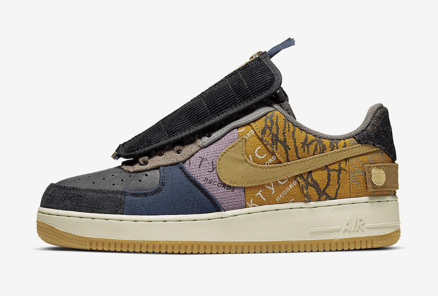 Nike Air Force 1 Low x Cactus Jack Travis Scott