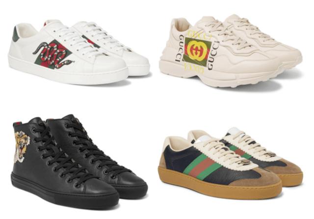 Sepatu Luxury Sneakers Gucci Terbaik