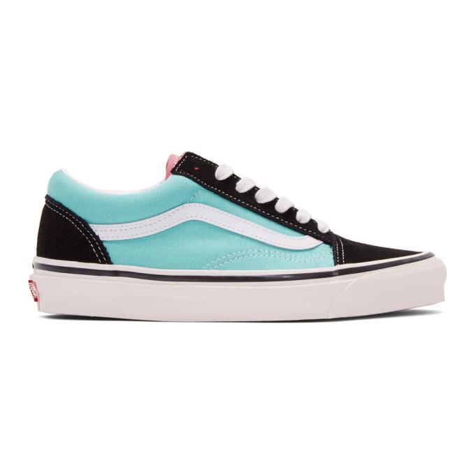 Vans Black and Blue Anaheim Old Skool 36 DX Sneakers