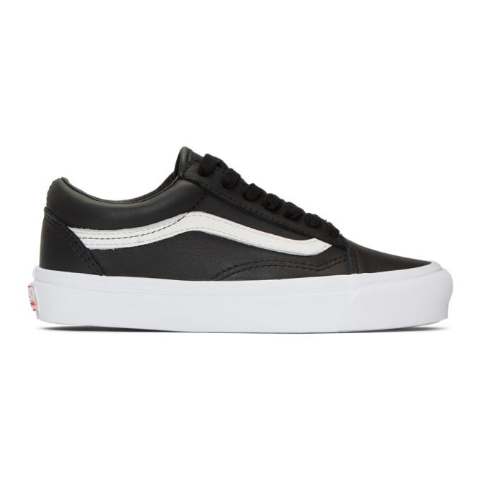 Vans Black OG Old Skool LX Sneakers