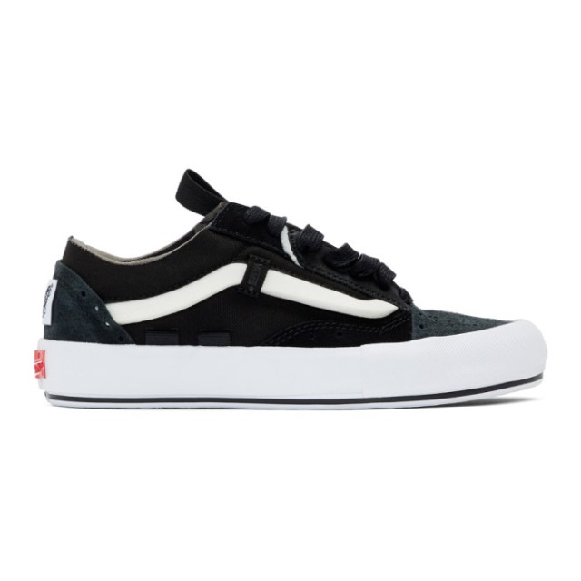 Vans Black Regrind Old Skool Cap LX Sneakers
