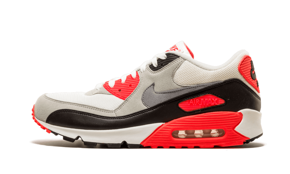 Nike Air Max '90 'Infrared' Shoes - Size 8