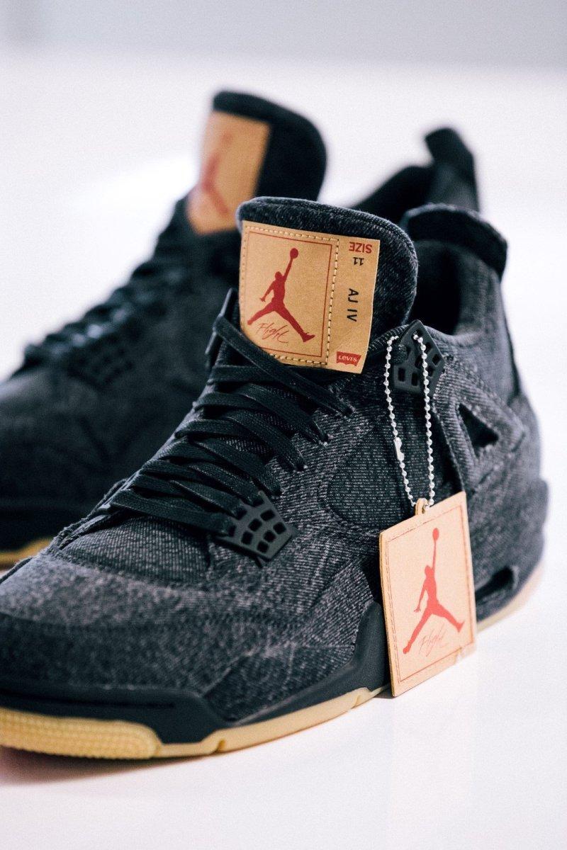 Levi's x Air Jordan collab