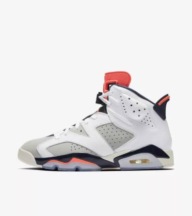"Nike Air Jordan 6 Tinker ""Infrared"""