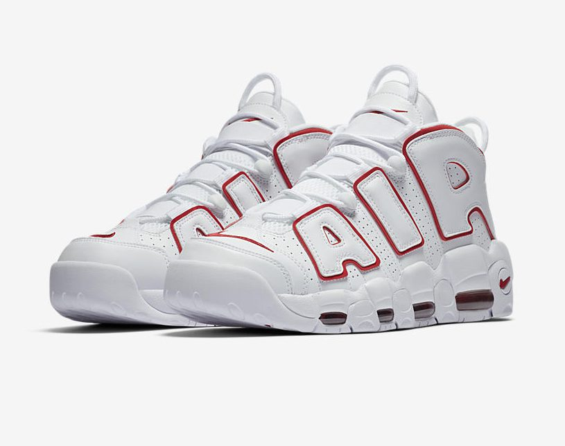 Release Date: Nike Air More Uptempo 'University Red'