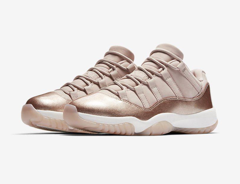 Release Date: WMNS Air Jordan 11 Low 'Rose Gold'