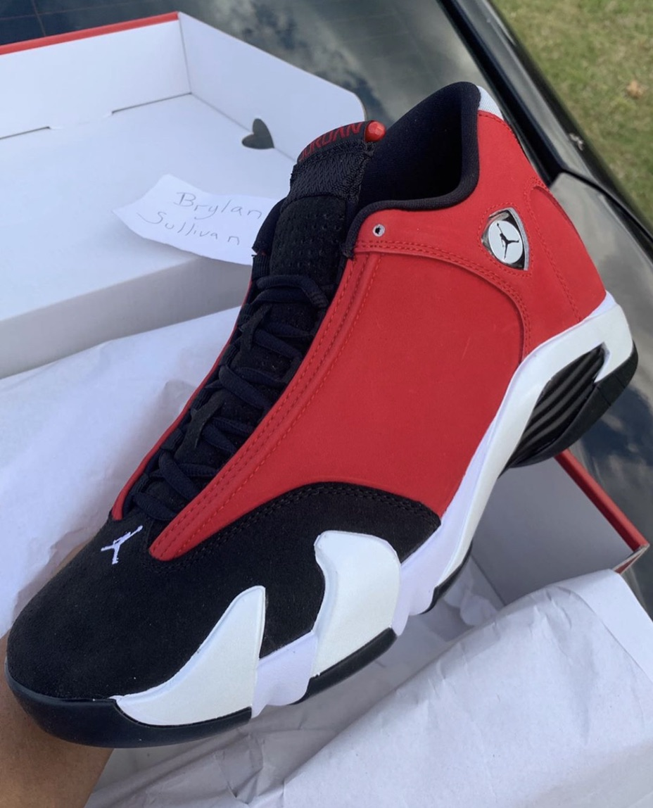 Release Date: Air Jordan 14 'Gym Red'