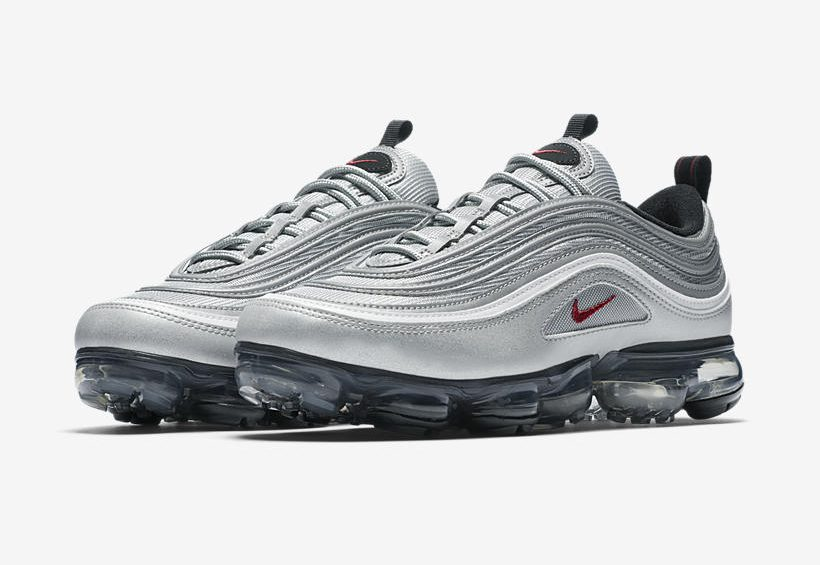 Release Date: Nike Air VaporMax 97 'Silver Bullet'