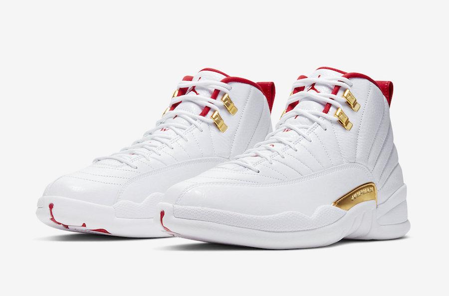 Air Jordan 12 'FIBA'August 23, 2019