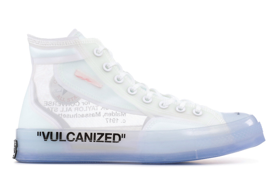 Release Date: Off-White x Converse Chuck Taylor