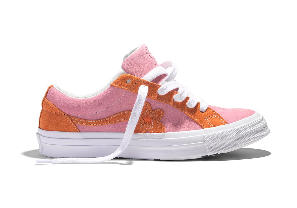 Release Date: Golf le Fleur x Converse One Star 'Candy Pink/Orange Peel'