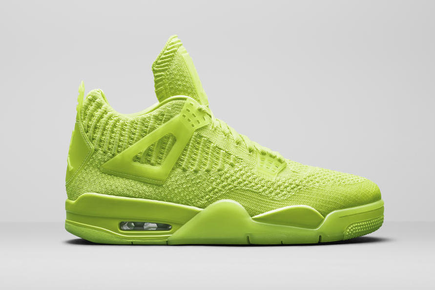 Air Jordan 4 Flyknit 'Volt'June 14, 2019