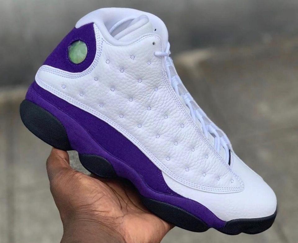 Release Date: Air Jordan 13 'Lakers'