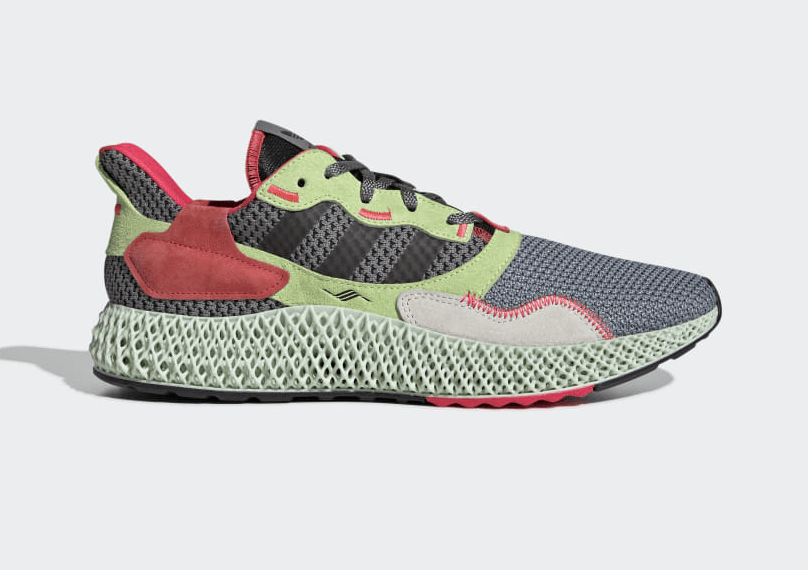 Release Date: adidas ZX 4000 4D 'Grey Three/Hi-Res Yellow'
