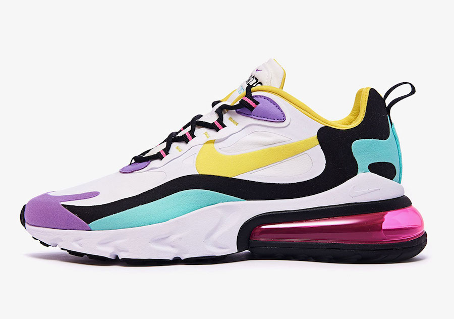 nike air max 270 womens yellow