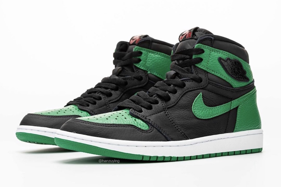 Air Jordan 1 High 'Black/Pine Green'February 29, 2020