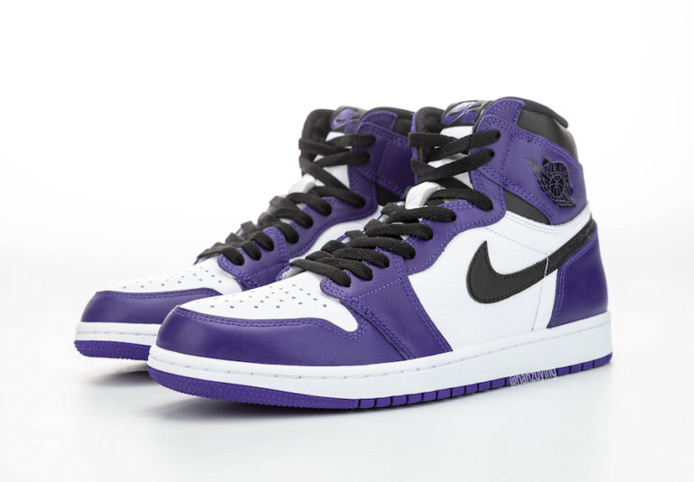 Release Date: Air Jordan 1 High OG 'Court Purple'