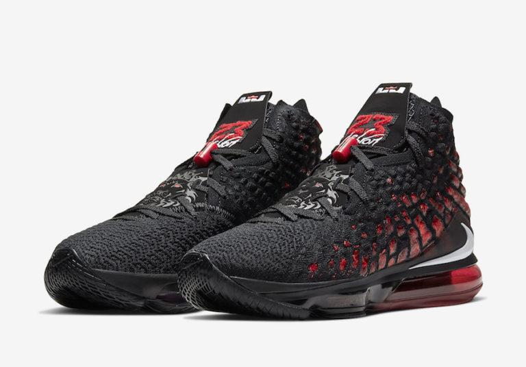 Nike LeBron 17 Infrared