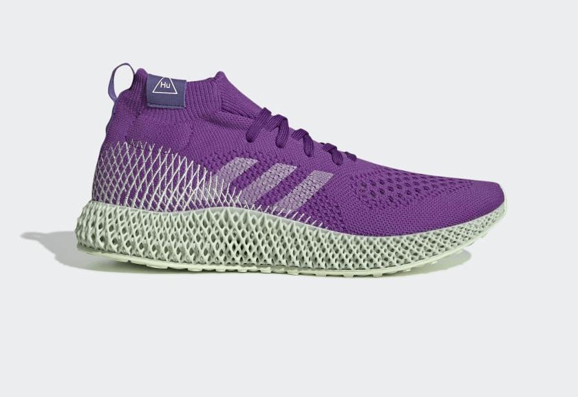 Release Date: Pharrell x adidas 4D Runner 'Active Purple'