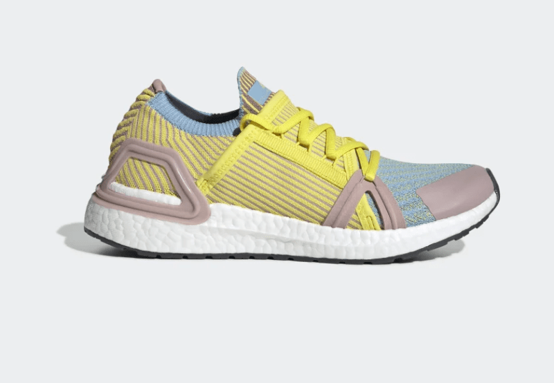 Stella McCartney x adidas UltraBOOST 20 Fresh Lemon/Dusty Rose