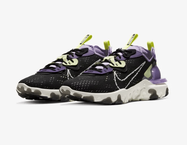 Release Date: Nike React Vision 'Gravity Purple'