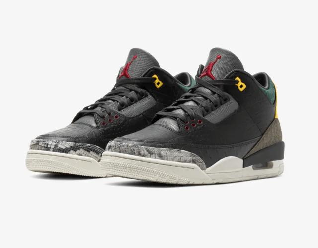 Release Date: Air Jordan 3 'Animal Instinct 2.0'