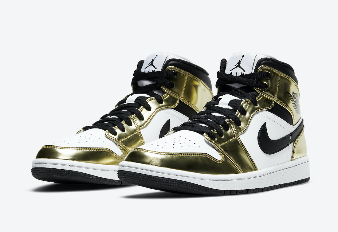 Air Jordan 1 Mid 'Metallic Gold'November 13, 2020