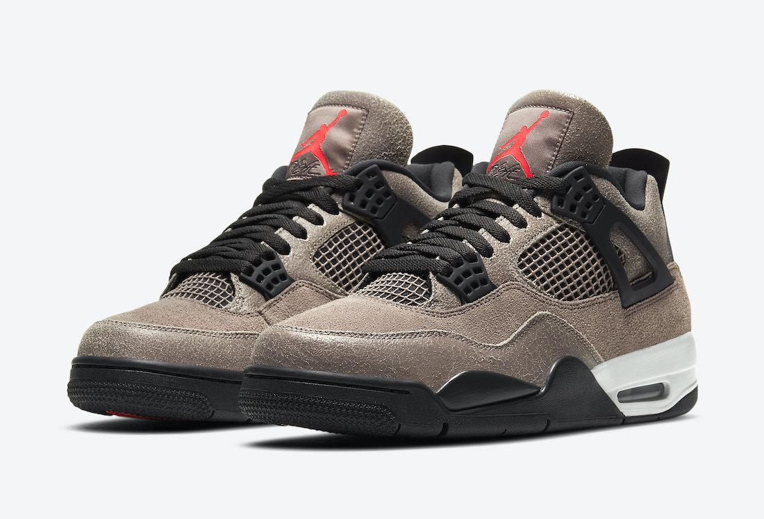Air Jordan 4 'Taupe Haze'January 28, 2021