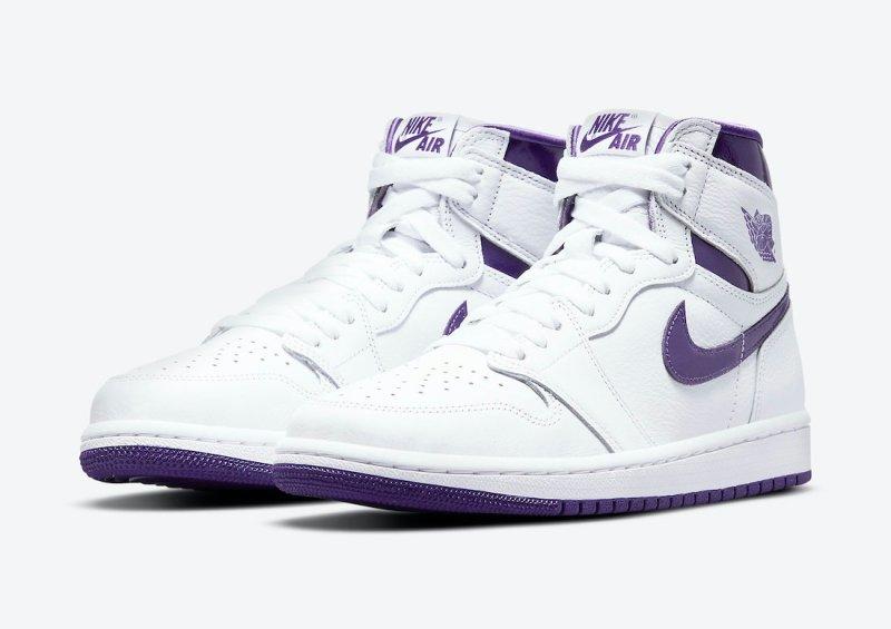 Women's Air Jordan 1 High OG Court Purple