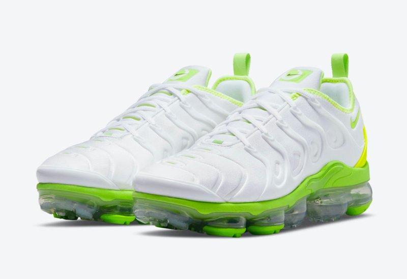 Nike Air VaporMax Plus White/Volt