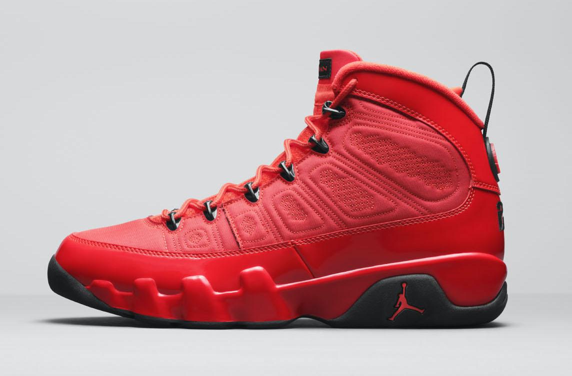 Release Date: Air Jordan 9 'Chile Red'