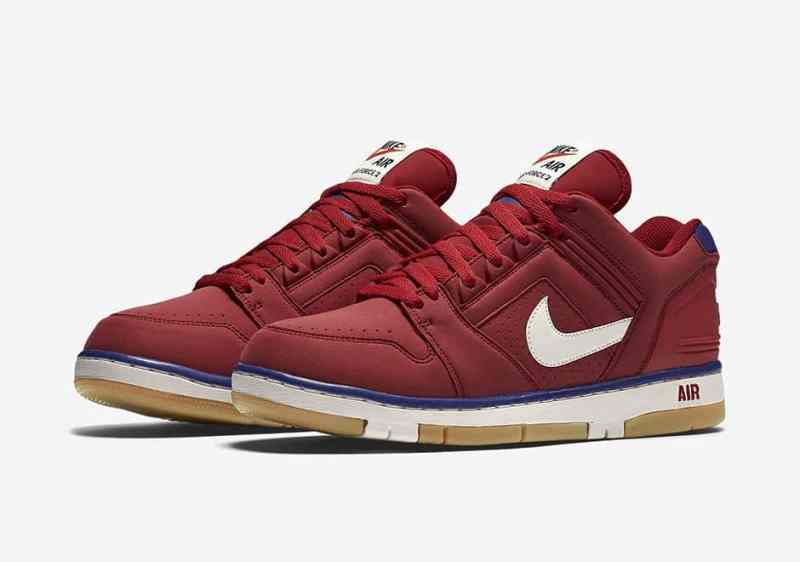 Nike Air Force 2 Low red