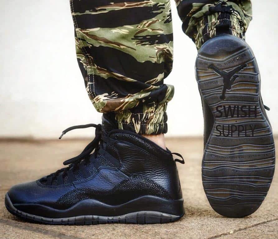 Nike Air Jordan 10 OVO Black 2016