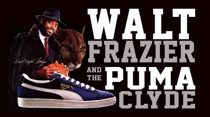 Walt Frazier et sa PUMA Clyde
