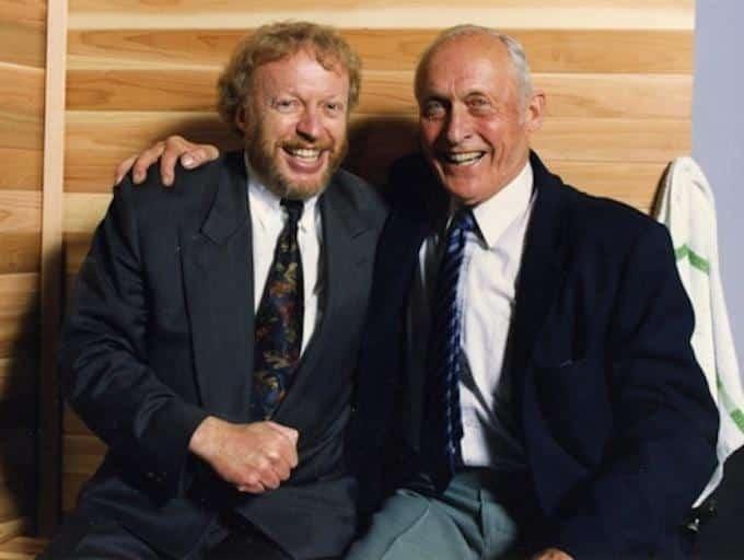 Philippe Knigt et Bill Bowerman