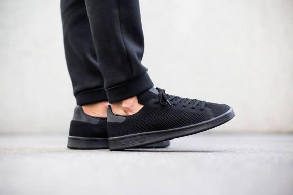 adidas Originals Stan Smith Primeknit Triple Black