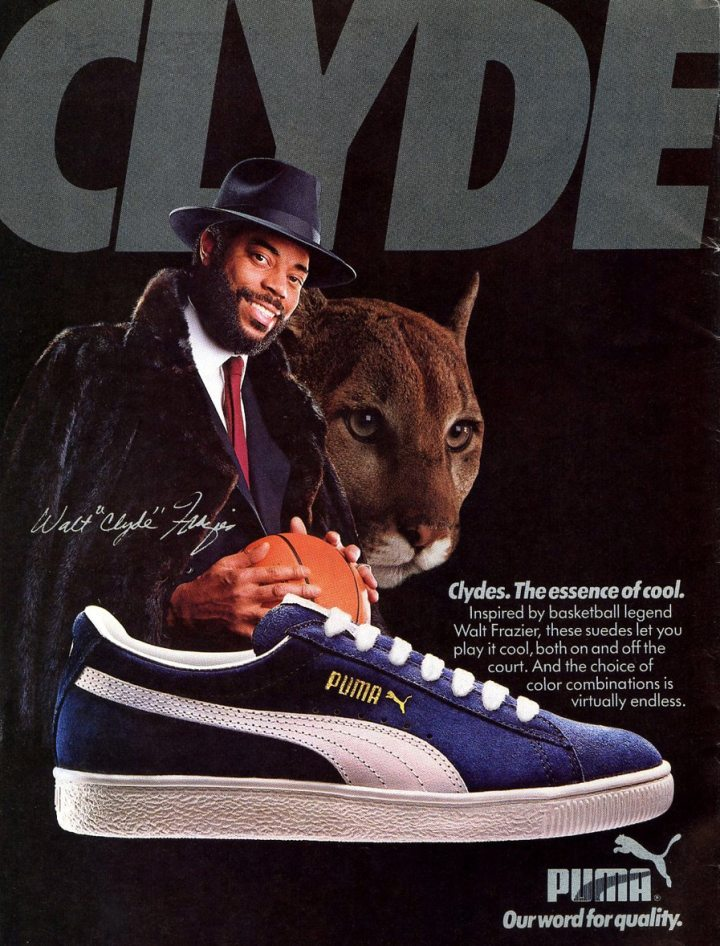 PUMA Clydes, The essence of cool