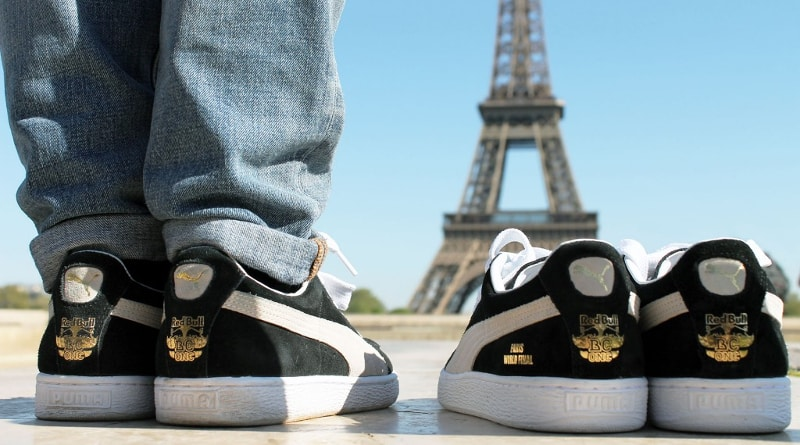 PUMA Suede x Red Bull BC One