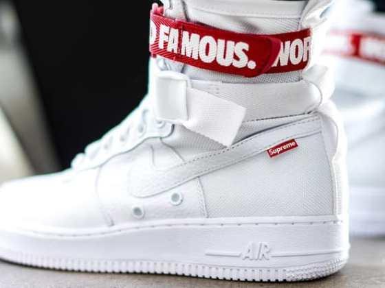 Supreme x Nike SF AF1