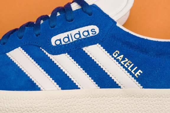 adidas Gazelle Super Vintage bleue