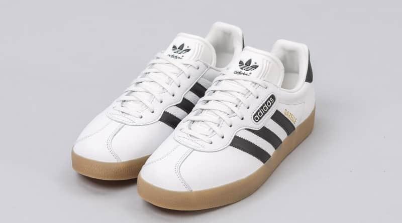 adidas gazelle toute blanche
