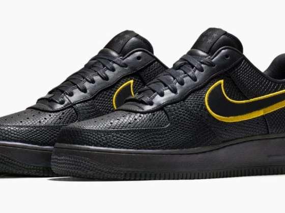 Nike Air Force 1 Low Black Mamba