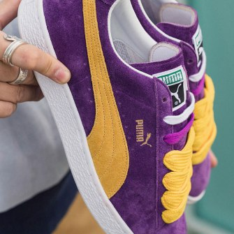 "PUMA Classic Suede Lakers ""Made in Japan"""