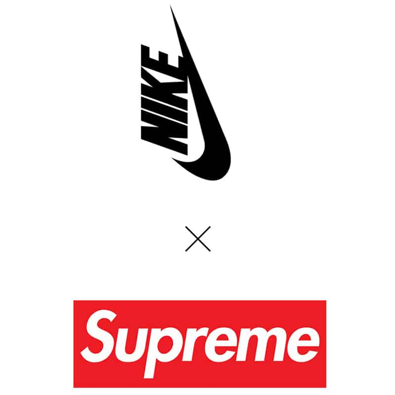 Logo Supreme x Nike