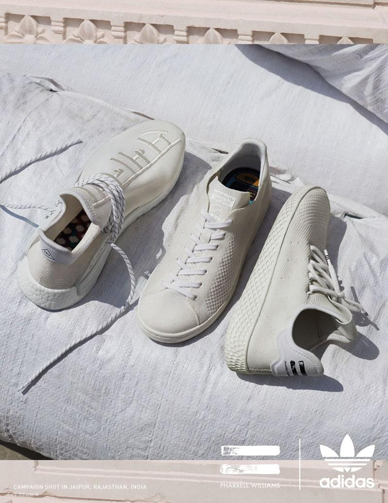 Pharrel x adidas Hu Holi Blank Canvas
